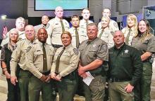 Sheriff Congratulates New Deputies on Graduation from Caddo Training Academy