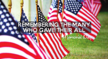On Memorial Day, Do at Least One Thing: Remember Those that Gave the Ultimate Sacrifice