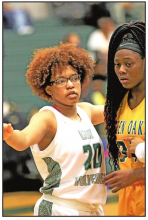 Mansfield Lady Wolverines Bite Green Oaks Lady Giants 61 - 39