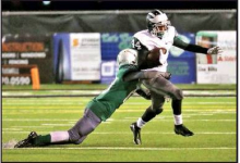 Bossier Run Attack too Much for Wolverines