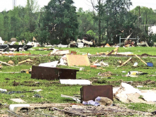 Spring Storms Bring Tornadoes and Damaging Winds to DeSoto; Gov. Declares State of Emergency in North Louisiana