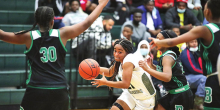 Lady Wolverines Crush District Rival Lady Bearkats 60 - 19
