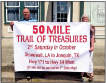 """Fifth Annual """"Fifty Mile Trail of Treasures"""" to be Held Saturday, October 12"""