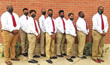 """Mansfield Middle School Introduces Eighth Grade Candidates for """"Call Me Mister"""""""