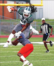 Wolverines Hosted Cowboys in a Thursday Evening Scrimmage