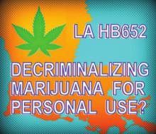 Louisiana Made History When Its New Marijuana Decriminalization Law Went Into Effect on Sunday, Aug. 1