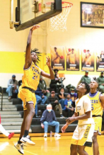 LHS Stung by Arcadia, Knocking Them Out of the Basketball Play-offs 62 – 37