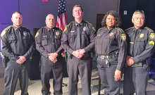 Mansfield Officer Jeffrey Walker Graduates from Caddo Training Academy