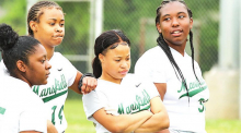 MHS Lady Wolverines Defeat Green Oaks 23 -1 and Honor Senior Players