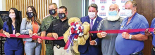 SOS Ardoin Attends Ribbon Cutting for Stonewall Municipal Complex