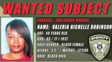 DPSO Searches for Valeria Robinson Regarding Recent Keachi Murder