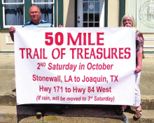 "Sixth Annual ""Fifty Mile Trail of Treasures"" to be Held Saturday, October 10"